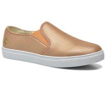 Ava Sneaker in goldinbronze