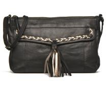 POFO Leather Crossbody bag Handtaschen für Taschen in schwarz