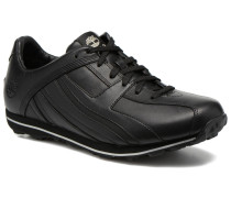 Trainer Low Sneaker in schwarz