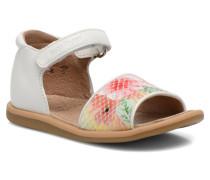 Tity Back Sandal Sandalen in weiß