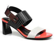 Zink Slingback Mid Sandalen in mehrfarbig