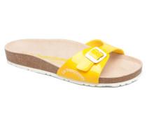 Pornic Sandalen in gelb