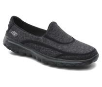 Go Walk 2 Super Sock 13955 Sneaker in schwarz