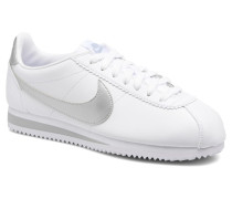 Wmns Classic Cortez Leather Sneaker in grau