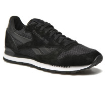 Cl Leather Clip Tech Sneaker in schwarz