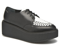 Sneaker Low Top Choupette Schnürschuhe in schwarz