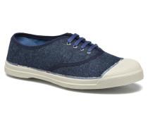 Tennis lainage Sneaker in blau