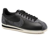 Wmns Classic Cortez Prem Sneaker in schwarz