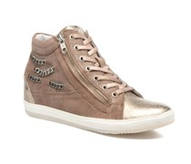 Klerviena Sneaker in goldinbronze