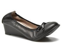 Edelweiss Ballerinas in schwarz