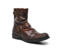 Metal Stiefeletten & Boots in braun