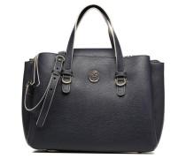 TH Core Satchel Logo Handtaschen für Taschen in blau
