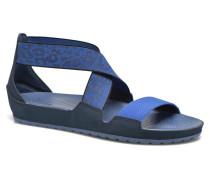 Anna Ankle Strap Sandal Sandalen in blau
