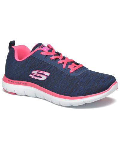 Skechers Damen Flex Appeal 2.0 Sneaker in blau
