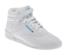 Freestyle Hi Sneaker in weiß