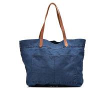 Denim Shopper Cabas denim Handtaschen für Taschen in blau
