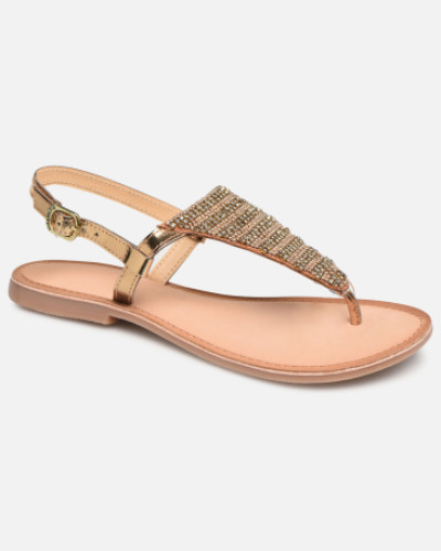 45277 Sandalen in goldinbronze