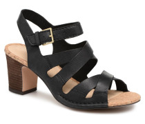 Spiced Ava Sandalen in schwarz