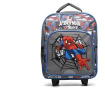 Spiderman Backpack Trolley Schulzubehör für Taschen in grau