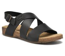 Targel Sandalen in schwarz