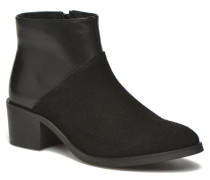 Dabai Leather Boot Stiefeletten & Boots in schwarz