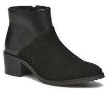Dabai Leather Boot Stiefeletten & Boots in schwarz