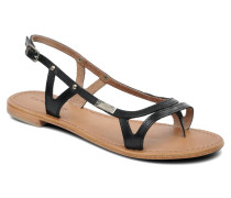 Isatis Sandalen in schwarz