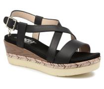 Sylout Sandalen in schwarz