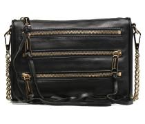 Mini 5 zip clutch Crossbody Handtaschen für Taschen in schwarz