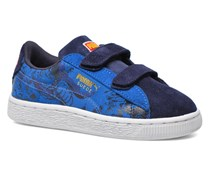 Kds Suede Superman Sneaker in blau