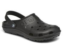 Hilo Clog Sandalen in schwarz