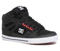 Spartan High WC Sneaker in schwarz