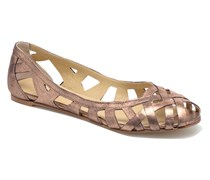 DERAY Ballerinas in goldinbronze