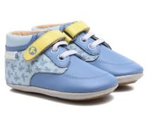 Follow me Baby Hausschuhe in blau