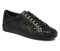 Irving lace up Sneaker in schwarz