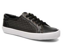 Sander Stud Sneaker in schwarz