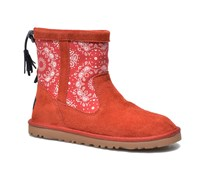 Kaelou Bandana Stiefeletten & Boots in rot