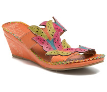 Varia Clogs & Pantoletten in orange
