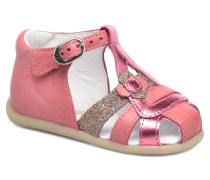 Glitter Sandalen in rosa
