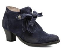 Violette Stiefeletten & Boots in blau