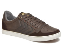 Ten Star Mono Oiled Low Sneaker in braun