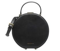 Porté main Hatbox Handtaschen für Taschen in schwarz