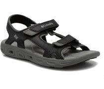 Childrens Techs Sandalen in schwarz