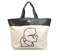 Canvas Thunder Shopper Handtaschen für Taschen in weiß