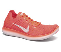 Wmns Free Rn Flyknit Sportschuhe in orange