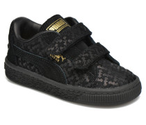 Suede Batman FM V Inf Sneaker in schwarz