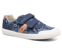 Comic Zone Jnr Sneaker in blau