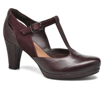 Chorus Gia Pumps in weinrot
