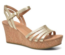 Brigitte Metallic Sandalen in goldinbronze