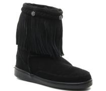 FRINGE CLASSIC PUG BT Stiefeletten & Boots in schwarz
